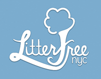 Litter Free NYC App Design