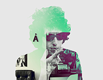 Bob Dylan Psychedelic