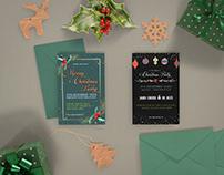 Christmas Festivity İnvitation