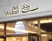 Arabic Food Restaurant 'Set Widad' Dubai Branding