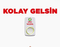 Vestel - Ariel Kolay Gelsin Campaign