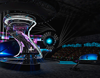 DESIGN-PROJECT OF CONCERT AND SPECTACULAR SPACE