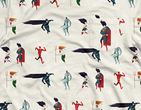 SUPER FRIENDS : Pattern