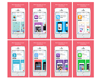 App store screenshots - Sketch Free