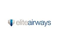 Elite Airways Logo Concept