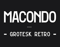 Macondo Grotesk - Display Font