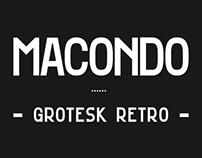 Macondo Grotesk - Display Font