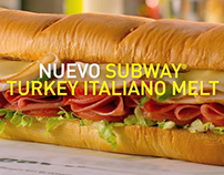 Subway - Turkey Italiano Melt - TV & RADIO - Spanish