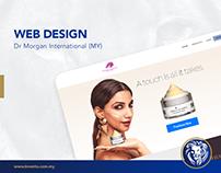 Web Design - Dr Morgan International (MY)