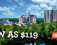 Foxwoods Casino Flash Banner Ad