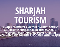 Sharjah Tourism Website Design
