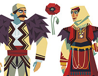 Costumes of Eastern Europe