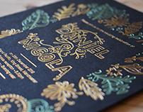 The Letterpressed Wedding Invitation