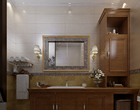 neo classical bathroom