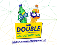 Sprite & Fanta Promotion - Double or almost nothing
