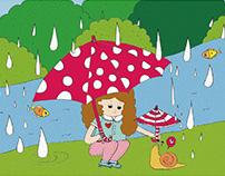 深圳博林集團|HELLO KONGZI |Illustration Book|繪本插畫