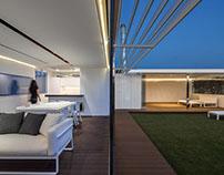 Living roof-Pabellones temporales con vistas a Zaragoza