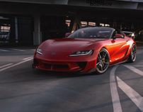 Toyota Supra ReDesign Portfolio Project