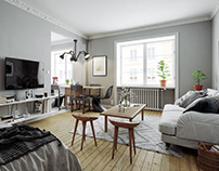 Scandinavian Apartment for BY Rydens #2