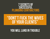 7 Secrets of Successful Plumbing Contractors