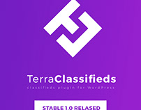 TerraClassifieds Stable 1.0 released