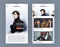 TV Show Landing Page : Mobile