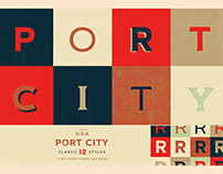 PORT CITY - A NEW TYPEFACE DESIGN