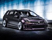 VW Golf R V8