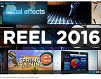 Reel 2016 - Animation, Motion Graphics, VFX