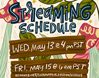 Streaming Schedule: May 11-17