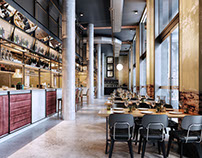 Brick Wall Cafe Design