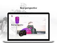 BestPerspective. Internet shop. Bootstrap.