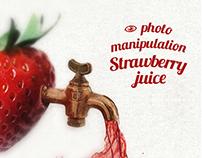 Strawberry Photo manipulation