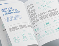 Report design, infographics and data visualisation