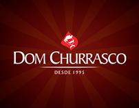 DOM CHURRASCO - Editoria gráfica para redes sociais