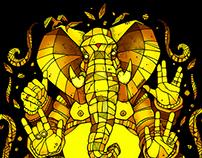 Elefant Ganesh