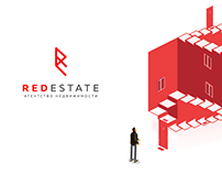 RedEstate | visual identity and advertising