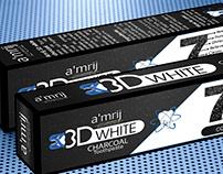 Amrij Toothpaste Packaging Design