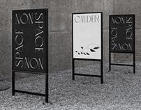 """Calder: Nonspace"" Exhibition Identity"