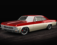 Chevrolet Impala Coupé 1965 (studio)