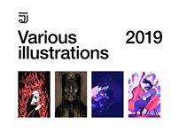 Various Illustrations 2019