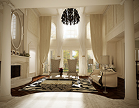 Villa interior design, USA