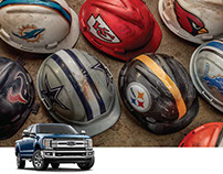 NFL Hard Hats