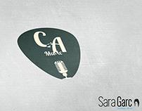 Logotipo Carlos Alfredo Music (LaVozKidsEspaña)