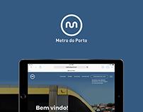 Metro do Porto - UI & UX Design