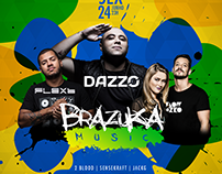 Brazuka Music 1 Year @ Clash Club