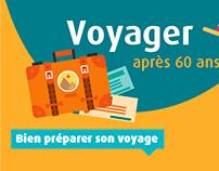 Voyager après 60 ans