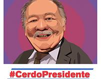 #CerdoPresidente - Una campaña para La Tele Letal