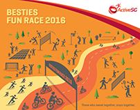 ActiveSG Besties Fun Race 2016 EDM