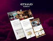 Etihad Guest   Web Design